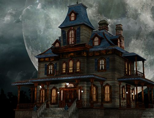 Does Illinois License Act require disclosure of 'haunted house?'