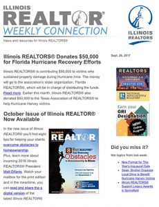 Weekly Connection enewsletter