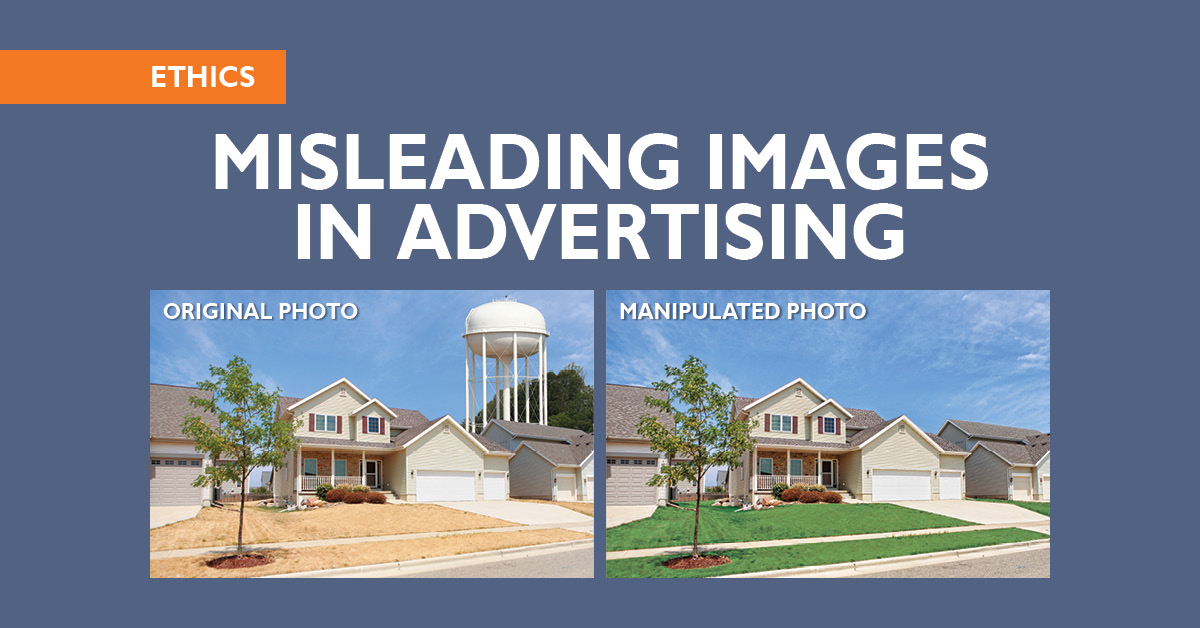 Code Of Ethics Misleading Images In Advertising