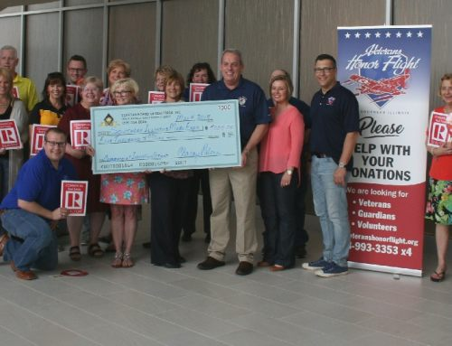 REALTORS® pledge $5K to help Veterans Honor Flight of Southern Illinois