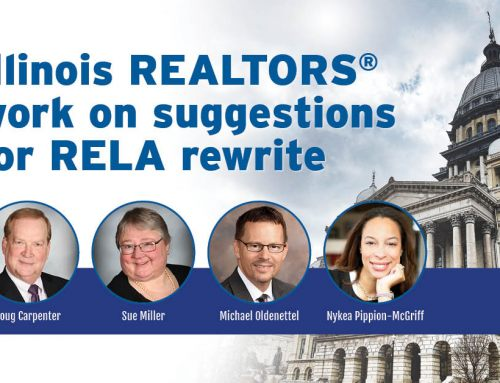 Four Illinois REALTORS® lead effort on license law rewrite suggestions