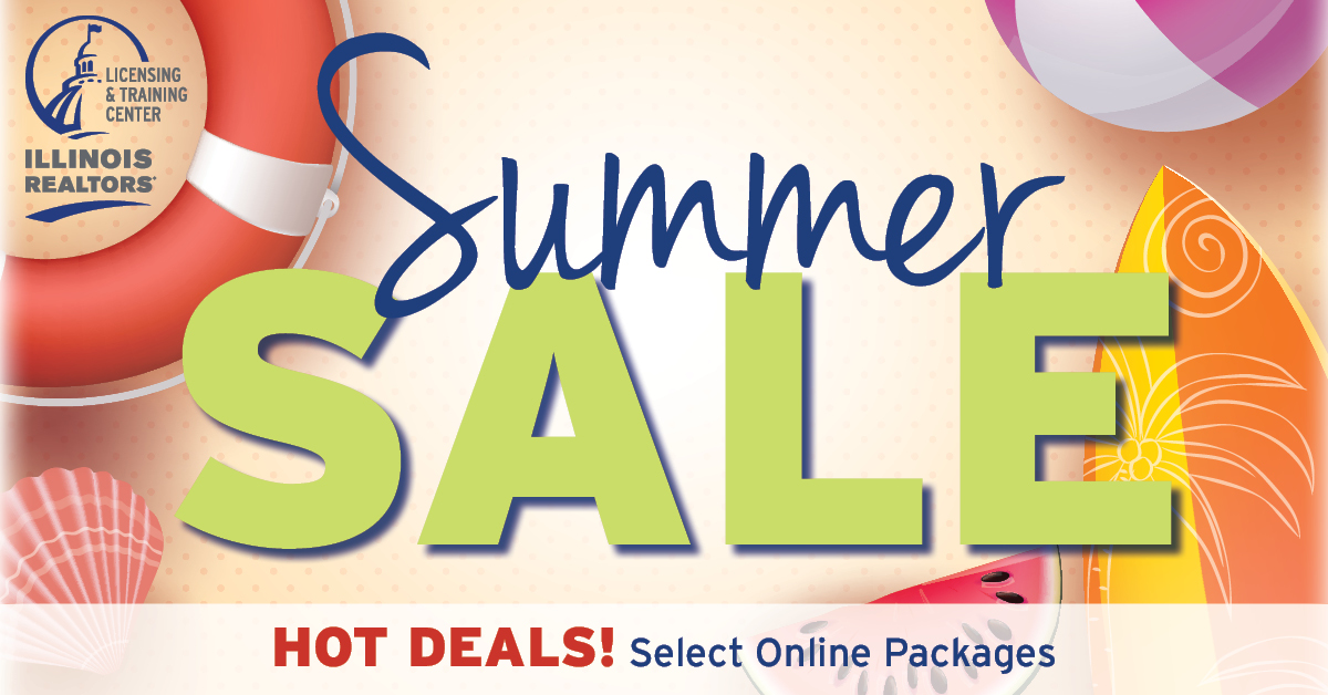 Summer Sale on Online Pre-License and CE Packages