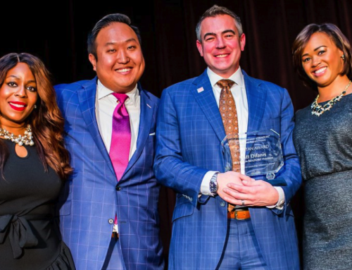 Difanis honored for diversity outreach with Titan Award from Chicago Industry Partners group