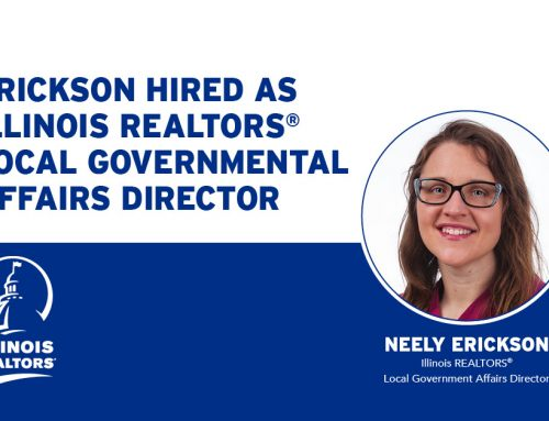 Erickson hired as Illinois REALTORS® local governmental affairs director