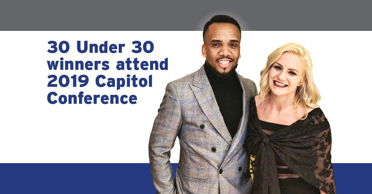 30 Under 30 award winners attend Capitol Conference