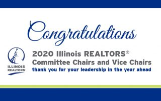 Congratulations 2020 committee chairs and vice chairs