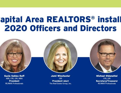 Capital Area REALTORS® install officers and directors for 2020