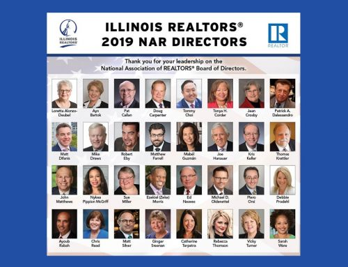 Illinois REALTORS® thanks 32 member leaders for service on NAR Board of Directors